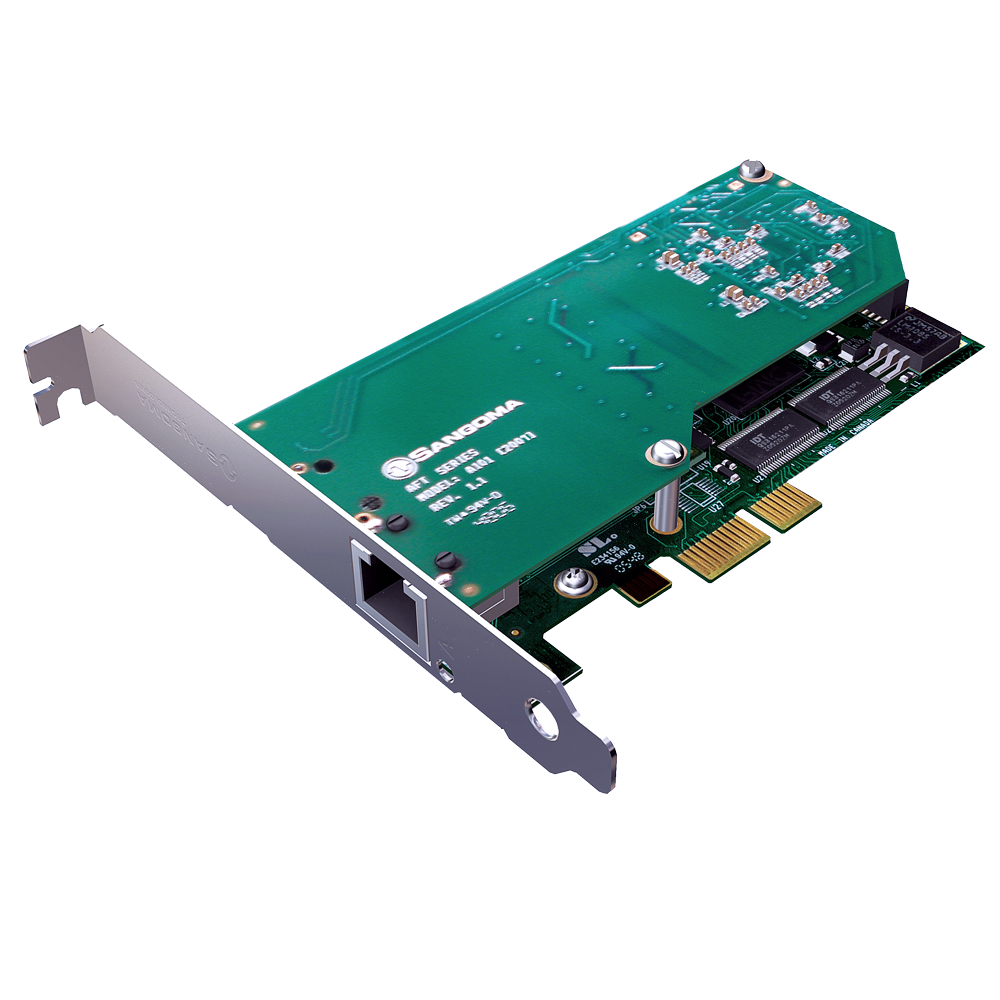 Sangom A101 Digital Telephony Card Image
