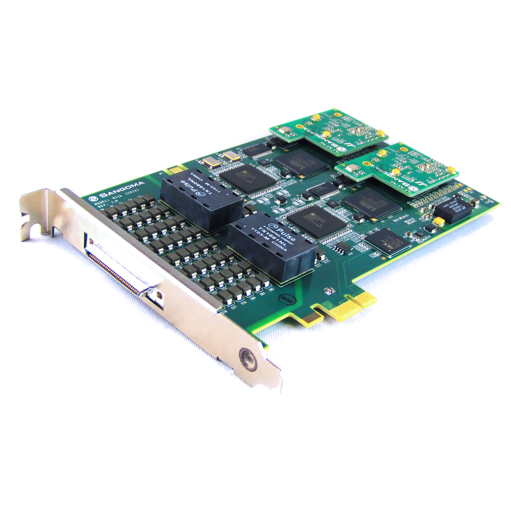 Sangom A116 Digital Telephony Card Image